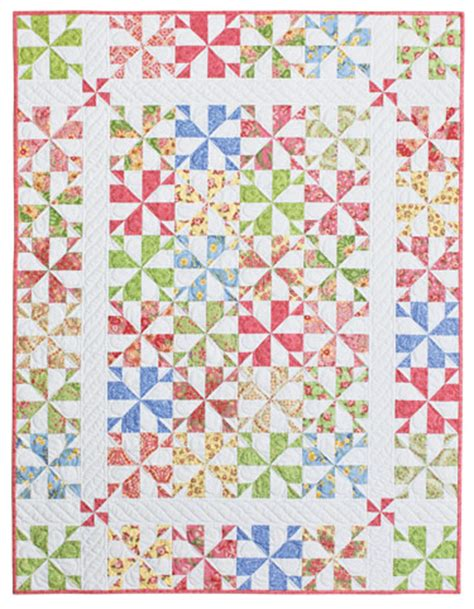 Whirligig Quilt Pattern by Whirligig Eleanor Burns Signature Quilt Pattern