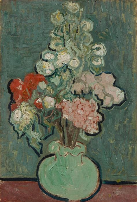 Gogh Vase Of Flowers by Artsy Vincent Gogh Great Works Of Artist