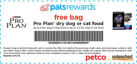 Galerry printable coupons for purina pro plan dog food