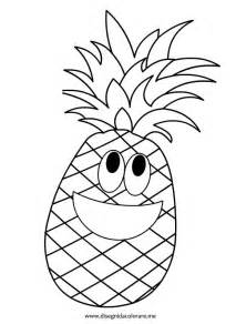 pineapple coloring page pineapple coloring pages cut coloring pages