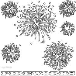 fireworks coloring pages printable fireworks coloring pages for cool2bkids