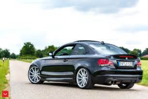 photoshoot bmw 1 series coupe on vossen cvt wheels