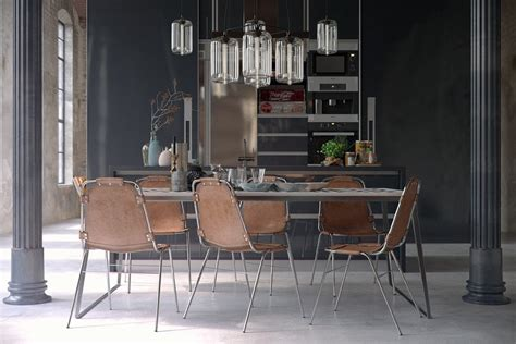 Industrial Dining Room Chairs with Industrial Style Dining Room Design The Essential Guide
