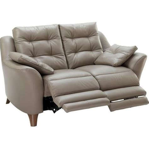 G Plan Recliner Sofas G Plan Pip 2 Seater Electric Recliner Sofa In Leather At The Rink