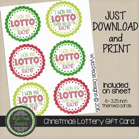 Lotto Card Template
