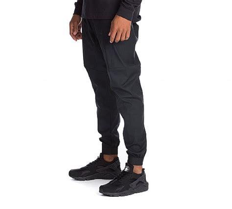 As Nike Bonded Woven Pant nike bonded cuff woven jog pant black footasylum