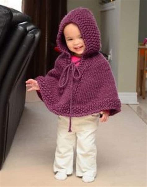 knitted hooded poncho knitted hooded baby poncho pattern free the whoot