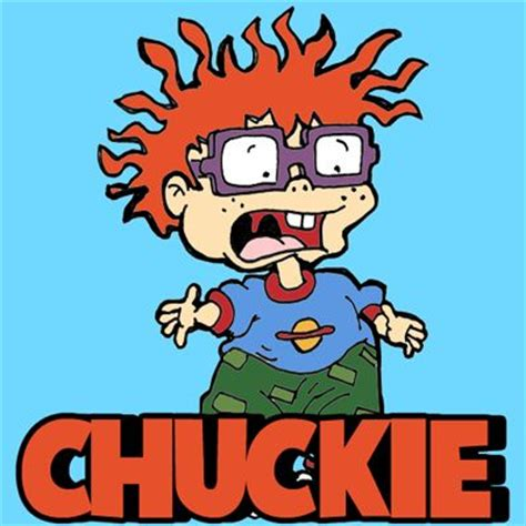 Chucky Rug Rats by Chuckie Rugrats World Of The Looney Toones And
