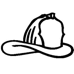 Firefighter Helmet Outline by Helmet Shield Clipart Clipart Suggest