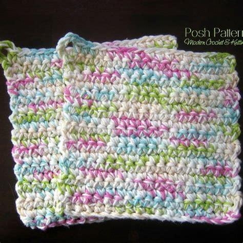 knitting pattern pot holder easy free pot holders crochet pattern posh patterns