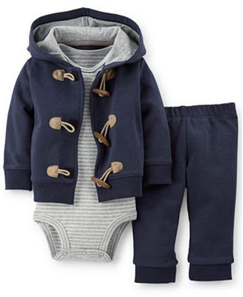 S 3 Babyboy Bodysuit And Pant Set Cs074 s baby boys 3 cardigan bodysuit set macy s