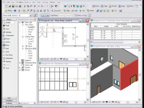 tutorial revit revit tutorials starting a project youtube