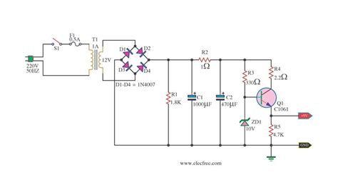 simple diode circuits simple zener diode voltage regulator circuit 28 images zener diode working with circuit