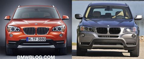 size difference between bmw x3 and x5 bmw x1 vs x3 will the choice confuse buyers