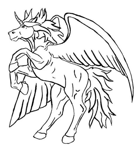 Coloring Page Unicorn With Wings by Unicorn With Wings Coloring Pages 600 215 648 Free Coloring