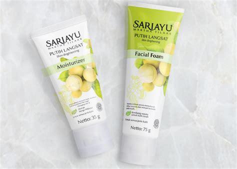 Harga Rangkaian Sariayu Putih Langsat review sariayu putih langsat pembersih wajah dan pelembab wajah yukcoba in