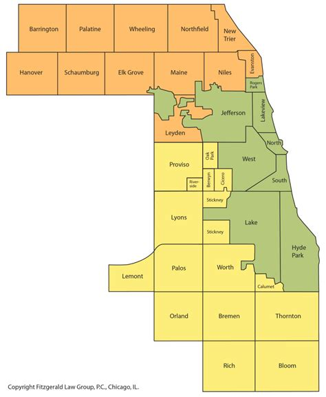 Cook County Illinois Records Cook County Assessor Map My