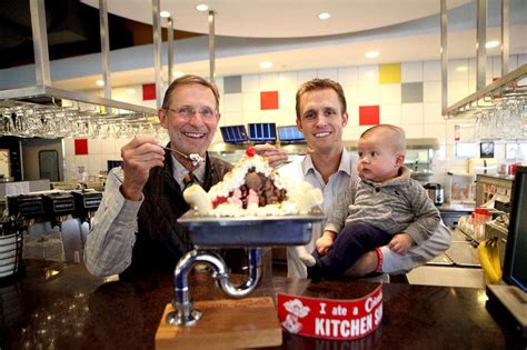 topped   cherry  colonial cafe signature sundae marks  decades kane county chronicle