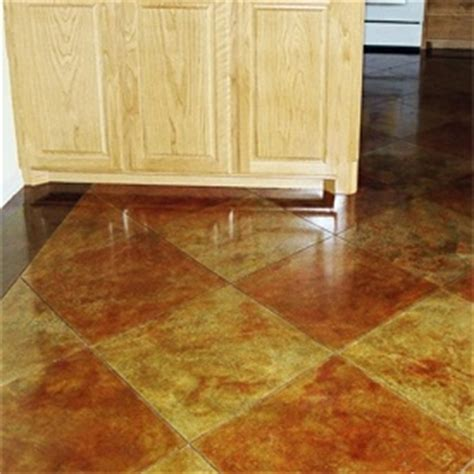 Stained Concrete Floors Pros And Cons by 1000 Images About Concrete Stain On Stains