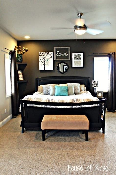 accent wall in master bedroom 17 best ideas about dark master bedroom on pinterest