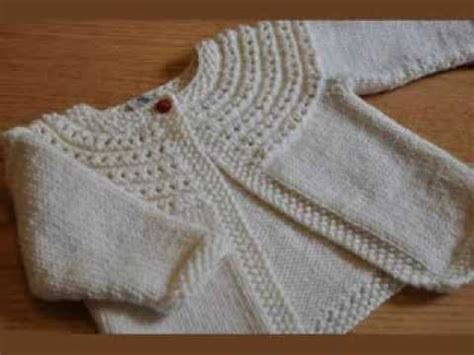 knitting patterns for sweater youtube easy knit baby cardigan youtube