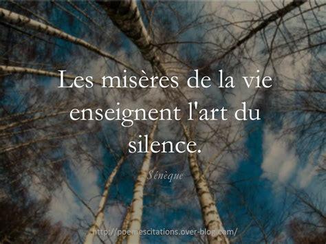 Quot Les Mis 232 Res De La Vie Enseignent L Art Du Silence