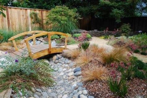 Backyard Creek Bed by Bridge Creek Bed Backyard Ideas