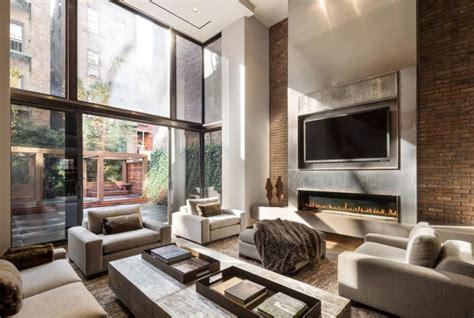 beauty  linear fireplaces  modern homes