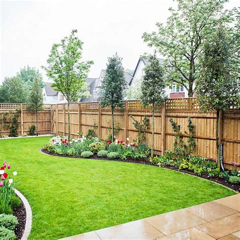 landscape layout horizontal steve s favorite fence replace top trellis with