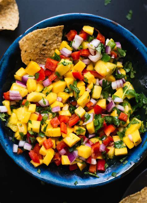 mango recipe mango salsa tacos