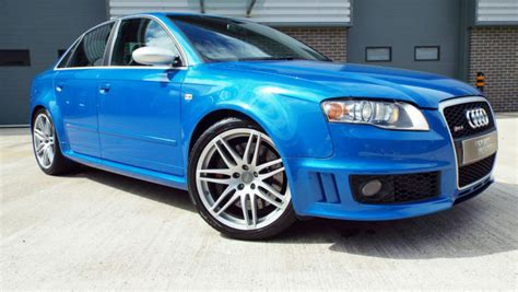 audi rs   quattro saloon sprint blue massive