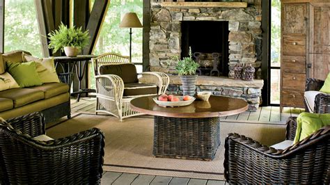 lake house decorating ideas southern living screened porch naturally inspired georgia lake house