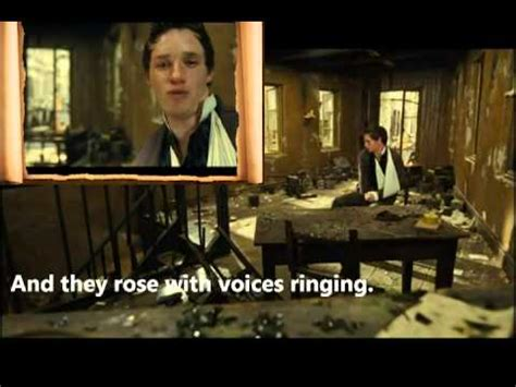 Eddie Redmayne Empty Chairs At Empty Tables by Les Miserables 2012 Empty Chairs At Empty Tables Lyrics