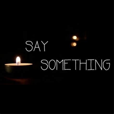 Say Something by Say Something Single Marty