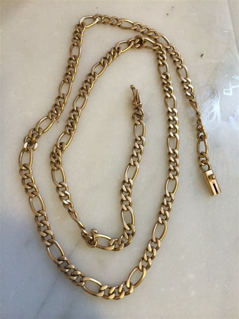 fina cadena de oro 18k modelo cartier 26 5 gramos 850 - Cadena De Oro De 100 Gramos Precio