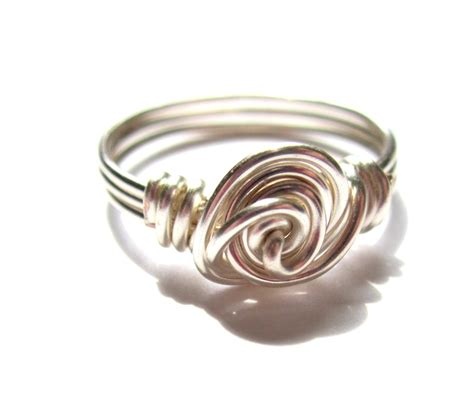 Wire Wrapped Rose Ring Tutorial   Emerging Creatively Jewelry Tutorials