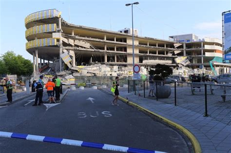 cause of airport parking garage collapse still unclear