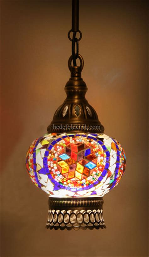 Turkish Pendant Light Turkish Style Mosaic Pendant L 12 Cm Mediterranean Pendant Lighting Other Metro By