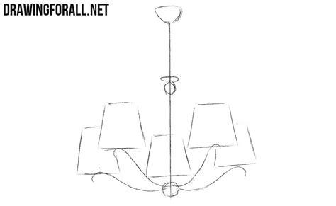 How To Draw A Chandelier How To Draw A Chandelier Drawingforall Net