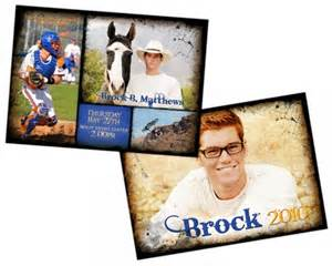 24 best images about senior announcements on collage template high school seniors