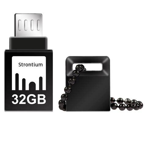 Strontium Nitro Otg Usb Flash Drive Bbotg2z 32gb strontium nitro otg usb flash drive 32gb sr32gbbotg2z black jakartanotebook