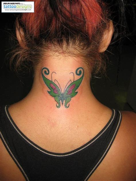 tattoo designs for girls on neck tattoos for tattoos for on back of neck