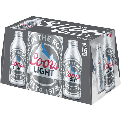 16 oz coors light coors light 16 oz aluminum bottle koozie