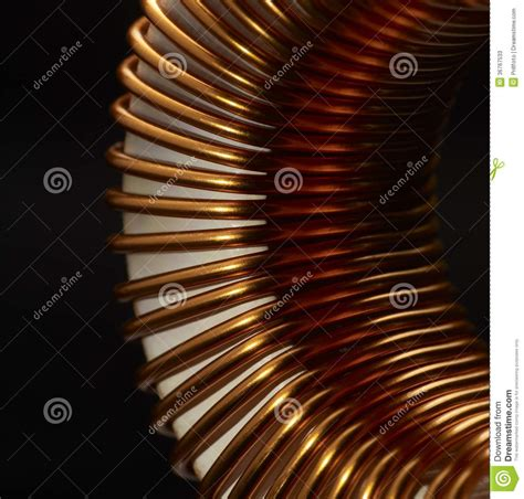 inductor in electronic inductor detail stock photos image 36767533