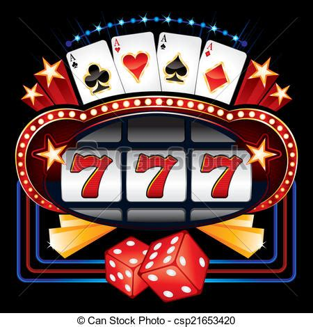 Small Home Plans Free by Vector Illustration Of Casino Machine Shining Casino