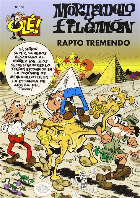 libro mortadelo y filemn el mortadelo y filemon 168 rapto tremendo ibez francisco libro en papel 9788466612920