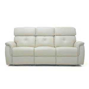 corina 3 seater leather sofa