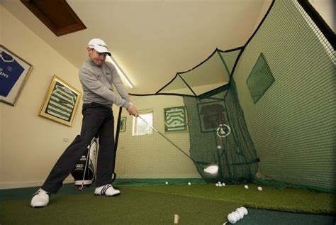 swing practice at home new huxley rotanet 3 gets golfers into the swing of things