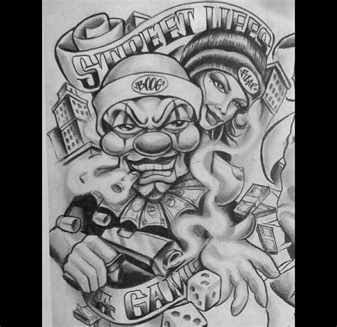 new school gangster tattoo chicano art tattoo ideas tattoo tattoos lowrider low