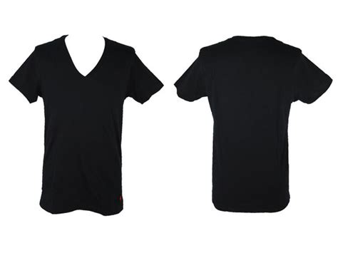 black v neck t shirt template plain white t shirt front and back clipart best